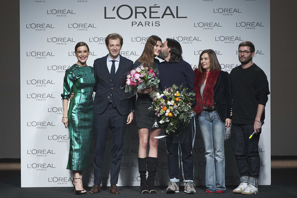 L'Oreal Paris Award - Mercedes Benz Fashion Week Madrid - January 2018
