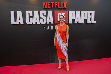 Raquel Sanchez Silva Netflix Presents 'La Casa De Papel' 3rd Season In Madrid