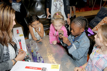 Rashida Jones Rashida Jones, MGA Entertainment and the Cast of Netflix's Project Mc2 Celebrate National S.T.E.A.M. Day and the Premiere of Part 6 at Google in L.A.