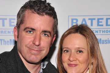 "Samantha Bee Jason Jones ""Rated P For Parenthood"" Off Broadway Opening Night - Arrivals"
