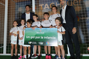 Raul Gonzalez TAG Heuer Becomes the Official Timekeeper and Official Sponsor of La Liga