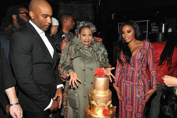 Raven-Symone WE tv Celebrates the Premiere of New Series 'Growing Up Hip Hop'
