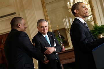 Ray LaHood Barack Obama Nominates Charlotte Mayor Anthony Foxx