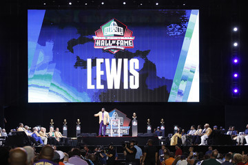 Ray Lewis NFL Hall Of Fame Enshrinement Ceremony