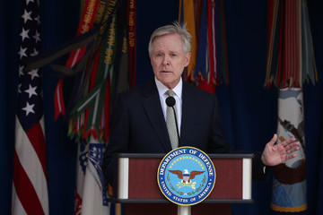 Ray Mabus Navy Secretary Ray Mabus Speaks at the Pentagon's LGBT Pride Month Ceremony