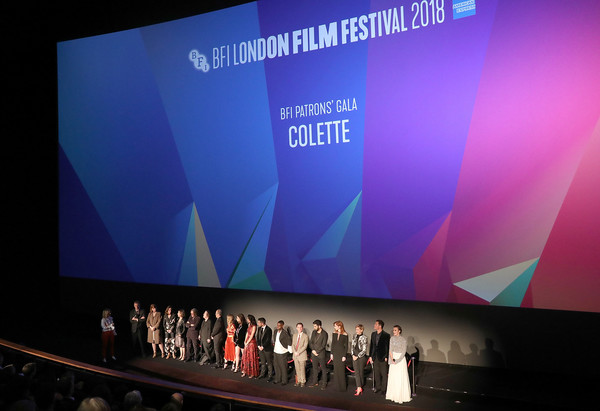 'Colette' UK Premiere & BFI Patrons Gala -  62nd BFI London Film Festival