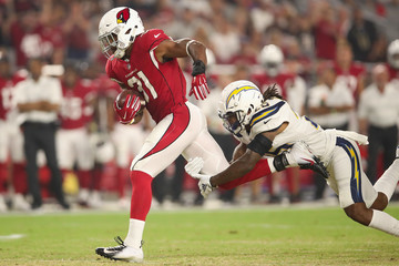 Rayshawn Jenkins Los Angeles Chargers vs. Arizona Cardinals