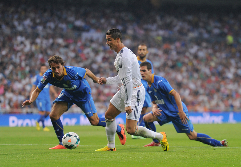Getafe Real Madrid: Cristiano Ronaldo Photos Photos