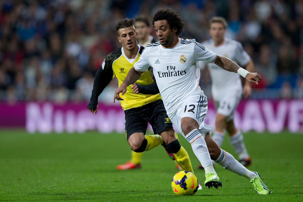 Marcelo in The Real World Marcelo Real Madrid cf v