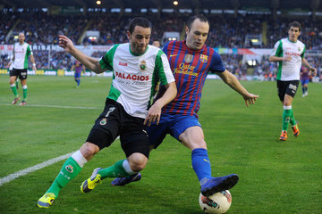 Arana Real Racing Club v FC Barcelona  - Liga BBVA