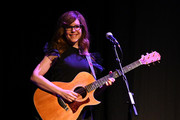 """Lisa Loeb performs at the  """"Reality Bites"""" 25th Anniversary - 2019 Tribeca Film Festival at BMCC Tribeca PAC on May 04, 2019 in New York City."""