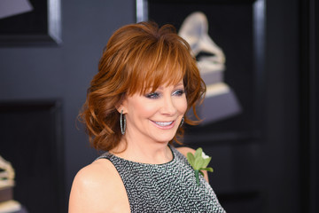 Reba McEntire 60th Annual GRAMMY Awards - Red Carpet