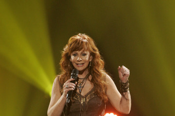 Reba McEntire Musicians Perform at a Relief Benefit Concert