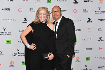 Rebecca Gibney 45th International Emmy Awards