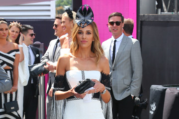 Rebecca Judd Celebrities Attend Derby Day