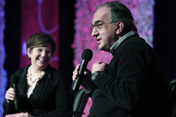 Rebecca Lindland Chrysler Chairman Sergio Marchionne Speaks At Business Conference
