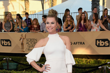 Rebecca Romijn 23rd Annual Screen Actors Guild Awards - Arrivals