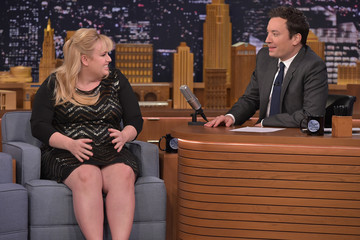 Rebel Wilson Rebel Wilson Visits 'The Tonight Show Starring Jimmy Fallon'