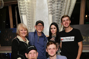 """Michelle John, Steve """"Woody"""" Culleton, Ron Howard, Carly Jean Ingersoll and guests attend the """"Rebuilding Paradise"""" Sundance Premiere Reception at Tupelo on January 24, 2020 in Park City, Utah."""
