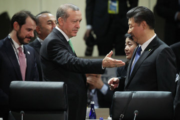 Recep Tayyip Erdogan World Leaders Participate in Policy Discussion at Nuclear Security Summit