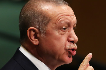Recep Tayyip Erdogan World Leaders Address The United Nations General Assembly