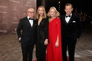 Tommy Hilfiger, Dee Hilfiger, guest and Daniel Grieder attend the 2020 Laureus World Sports Awards at Verti Music Hall on February 17, 2020 in Berlin, Germany.