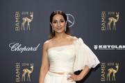 Stephanie Stumph attends the 70th Bambi Awards at Stage Theater on November 16, 2018 in Berlin, Germany.