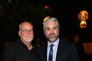 """Creator/Executive Producer Michael Connelly (L) and executive producer Henrik Bastin attend the after party for Amazon's first original drama series """"Bosch"""" at Lure Hollywood on February 3, 2015 in Hollywood, California."""