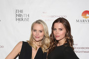 """Actresses Helena Mattsson and Sofia Mattsson attend the Red Carpet Screening of MarVista Entertainments """"The Neighborhood Nightmare"""" with The Ninth House on February 25, 2018 in Sherman Oaks, California."""