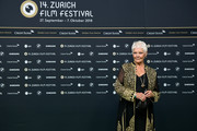 Judi Dench attends the 'Red Joan' premiere and Golden Icon Award during the 14th Zurich Film Festival at Festival Centre on October 03, 2018 in Zurich, Switzerland.