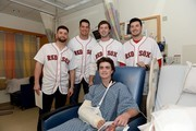 Red Sox Rookies Visit Boston Children's Hospital