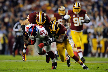 Reed Doughty New York Giants v Washington Redskins
