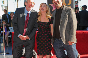 Jim Mangold Reese Witherspoon Honored On The Hollywood Walk Of Fame
