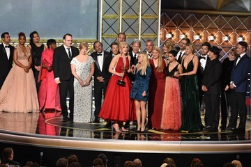 Reese Witherspoon Zoe Kravitz 69th Annual Primetime Emmy Awards - Show