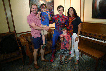 Reeve Carney 'Spider-Man Turn Off the Dark' Celebrates Father's Day