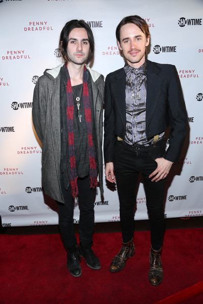 'Penny Dreadful' Screening and Q&A With Reeve Carney [carpet,red carpet,suit,event,fashion,premiere,outerwear,fashion design,flooring,tuxedo,reeve carney,zane carney,r,q a,new york city,tribeca cinemas,penny dreadful screening]
