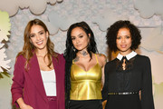 (L-R) Jessica Alba, Kehlani and Gugu Mbatha-Raw attend Refinery29's 29Rooms San Francisco: Turn It Into Art Opening Party 2018 at Palace of Fine Arts on June 20, 2018 in San Francisco, California.