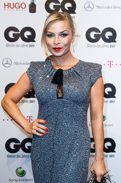 Regina Halmich Regina Halmich attends the GQ Man of the Year Award at