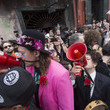 Regine Chassagne Arcade Fire Leads David Bowie Themed Second Line in New Orleans