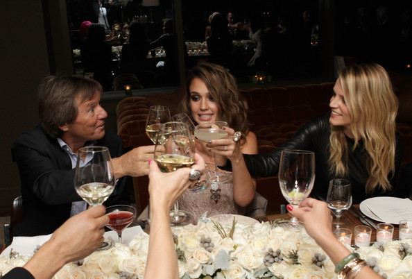 SWAROVSKI ELEMENTS Private Holiday Dinner Hosted By Jessica Alba