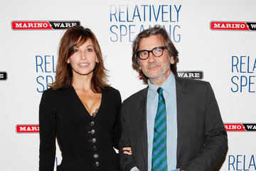 """Gina Gershon """"Relatively Speaking"""" Broadway Opening Night - Arrivals & Curtain Call"""