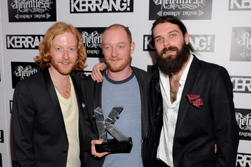 Biffy Clyro The Relentless Energy Drink Kerrang! Awards 2011 - Arrivals