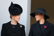 Sophie, Countess of Wessex and Meghan, Duchess of Sussex attends the annual Remembrance Sunday memorial at The Cenotaph on November 10, 2019 in London, England.