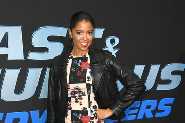 "Renee Elise Goldsberry Premiere Of Netflix's ""Fast And Furious: Spy Racers"" - Red Carpet"