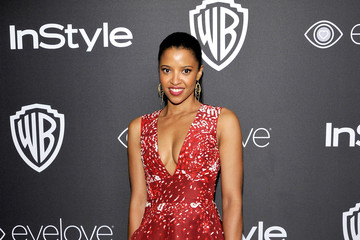 Renee Elise Goldsberry The 2017 InStyle and Warner Bros. 73rd Annual Golden Globe Awards Post-Party - Red Carpet