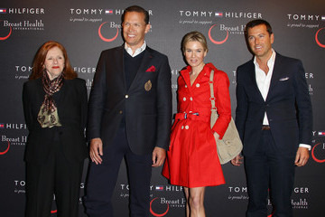 Pier Paolo Righi Renee Zellweger Attends Tommy Hilfiger Limited Edition Bag Launch For Breast Health International
