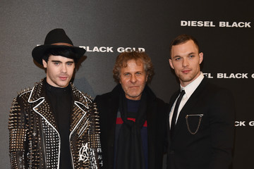 Renzo Rosso Front Row at Diesel Black Gold