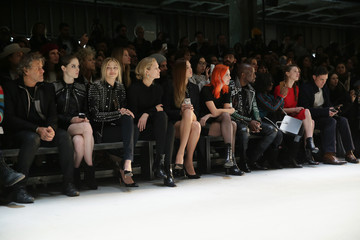 Renzo Rosso Amber Le Bon Diesel Black Gold - Front Row - Mercedes-Benz Fashion Week Fall 2015