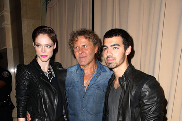 Renzo Rosso Coco Rocha MBFW: Backstage at Diesel Black Gold