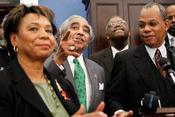 Calvin Butts Rep. Rangel (D-NY) And Religious Leaders Discuss Health Care Reform